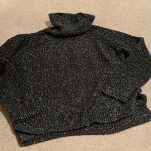 Madewell Sweaters - Madewell Colorfleck Ribbed Turtleneck Sweater